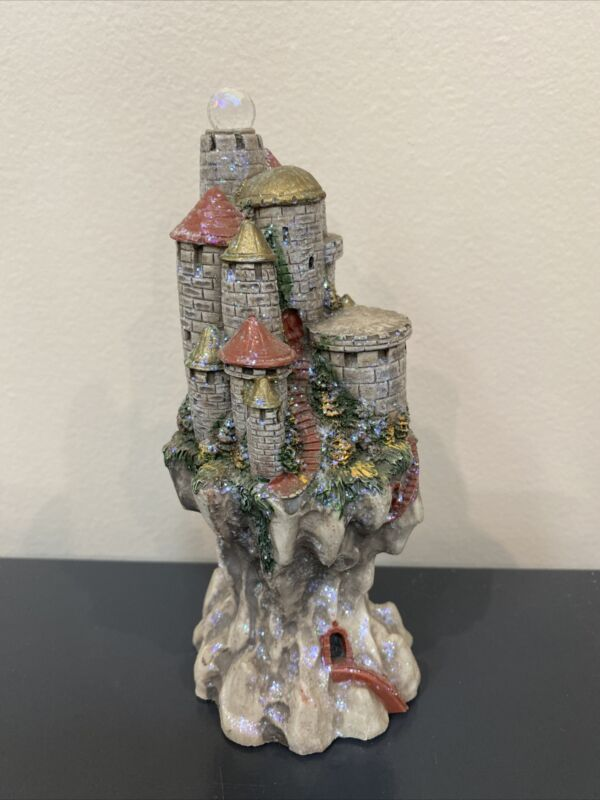 """Spoontiques 6"""" tall CASTLE W Crystal top"""