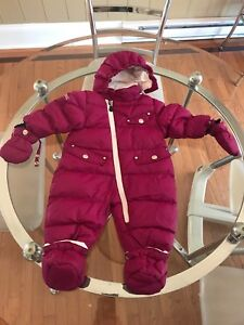 Girls snowsuit - 6 months