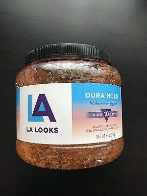 LA Looks Absolute Styling Dura Hold Long Lasting Gel Value Size 35 OZ  992g