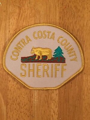 Defunct Contra Costa County California Old Style Sheriff's Dept. Police Patch