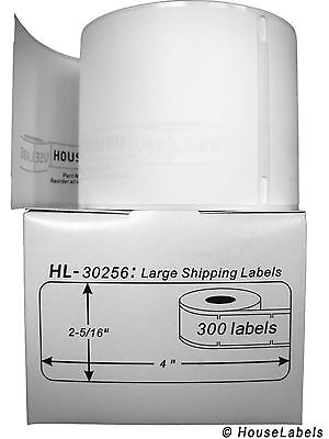 1 Roll of 300 Large Ship Labels in Mini-Cartons For DYMO® LabelWriter® 30256 on Rummage