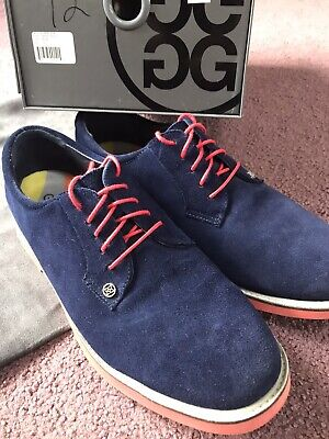 G/FORE Golf Shoes Blue/red Sz 12