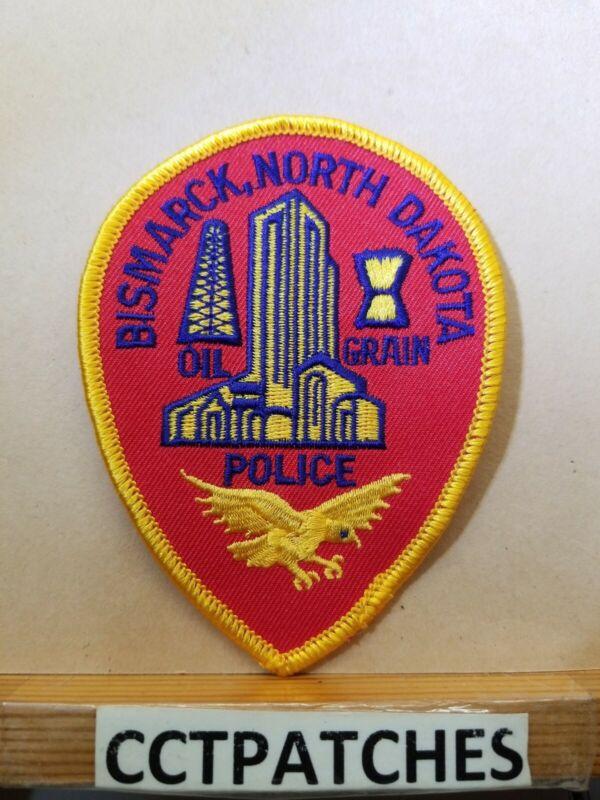 BISMARCK, NORTH DAKOTA POLICE SHOULDER PATCH ND
