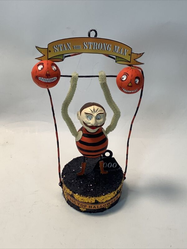 Hanging Halloween Ornament Stan The Strong Man