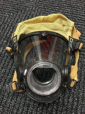 Scott Av-2000 Air Mask Respirator Scba Firefighter Size Large - Good Condition