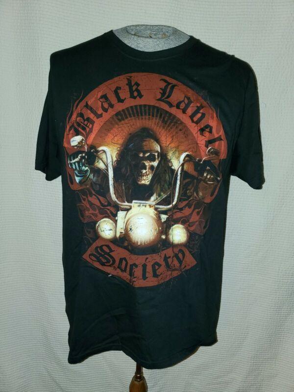 BLACK LABEL SOCIETY Doom Crew Inc Concert Tour (LG) T-Shirt ZAKK WYLDE (NEW)