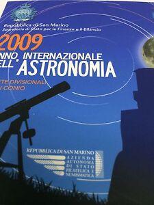 COFFRET SAINT MARIN 2009 MONNAIE DIVISIONNAIRE ASTRONOMIA - France - Pays: Saint Marin Année: 2009 - France