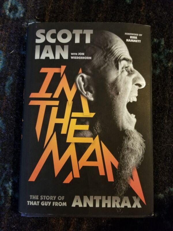 Signed Scott Ian book, I