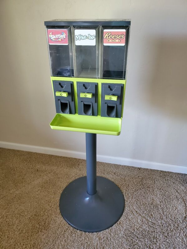Grey and Key lime 3000 Used Candy Vending Machine