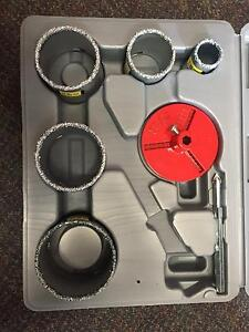 BRAND NEW Tungsten Carbide Hole Saw Kit South Brighton Holdfast Bay Preview