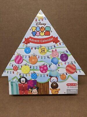 Disney Christmas tree Tsum Tsum Advent Calendar Open Box