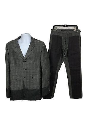 Comme Des Garçons Homme Plus Suit (Jacket & Pants) Reconstructed Size Large NEW