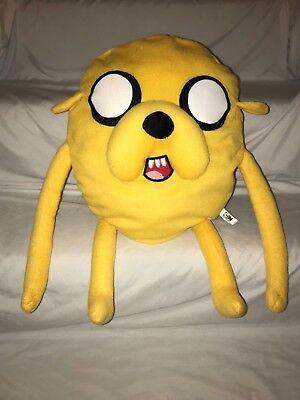 "Adventure Time Plush Jake the Dog Stuffed Animal Doll 20"" Cartoon Network](Jake The Dog Stuffed Animal)"