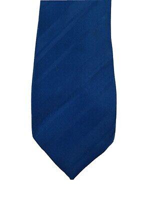 1960s – 70s Men's Ties | Skinny Ties, Slim Ties Vintage Mens Ketch 2-Tone Blue Stripes Skinny Thin Stripes Tie 56