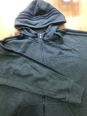 Adidas Zip Up Great Hoody Mens Size L