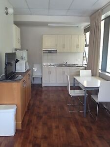 Spring Hill fully furnished studio free WiFi- quiet and bright. Spring Hill Brisbane North East Preview