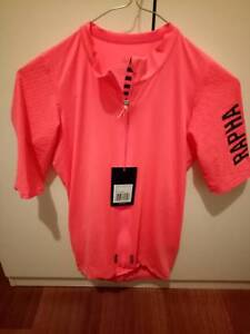 Cycling rapha pink proteam Aero jersey brand new