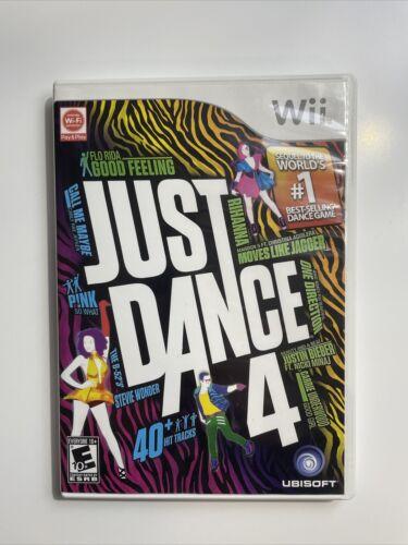 Just Dance 4 Nintendo Wii, 2012  - $8.00