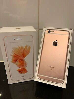 APPLE iPHONE 6s - 16GB in ROSE GOLD Smart Mobile Phone UNLOCKED ANY NETWORK