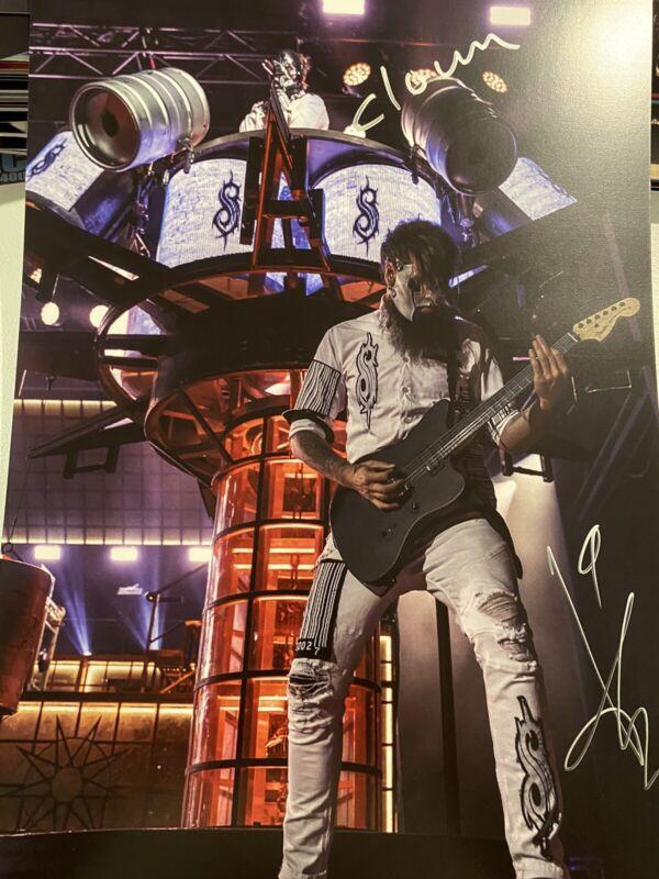 Slipknot Signed Poster