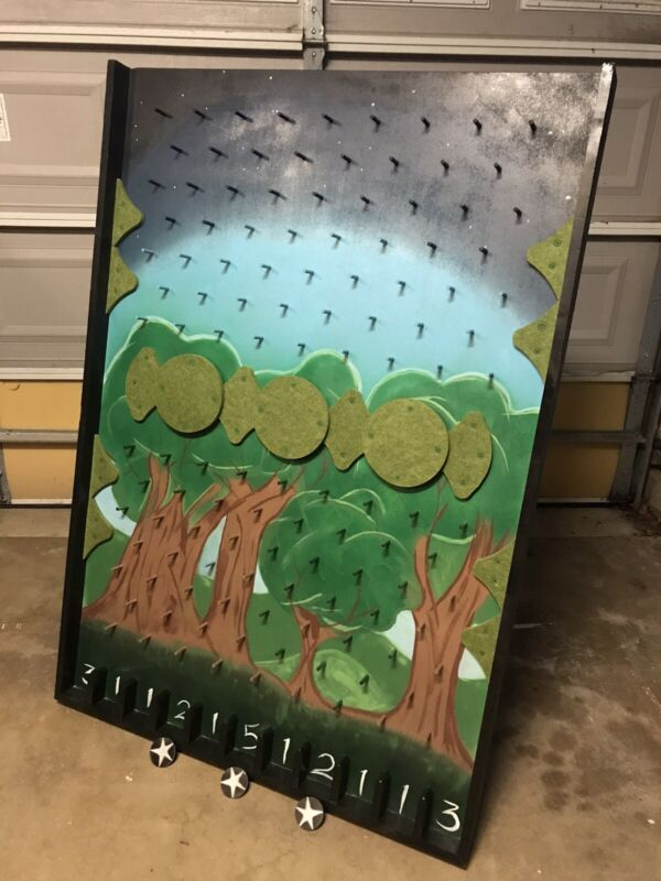 Large Plinko Board 5' Tall Custom Built
