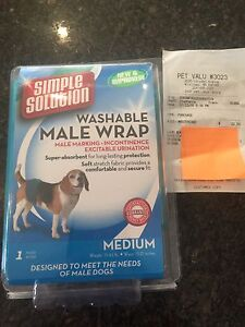 Doggy diaper - male - like new, clean - $12
