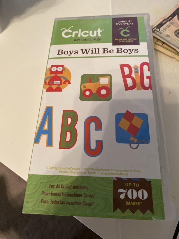Boys will be Boys Cricut cartridge