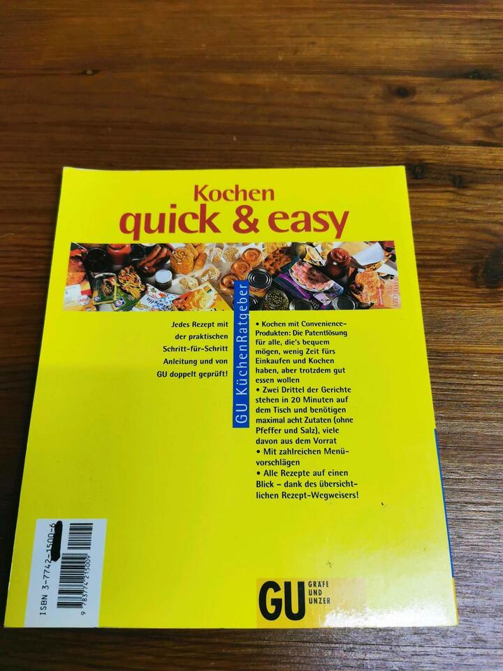 Quick & Easy Kochbuch in Altusried