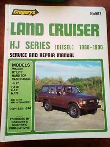HJ Land Cruiser Service and Repair Manual. Ipswich Ipswich City Preview