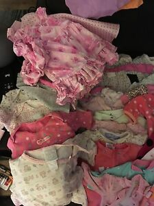 0-3 months girls wardrobe