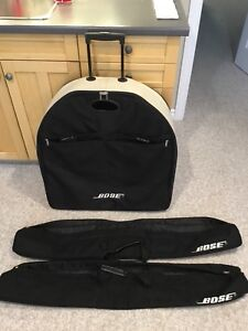 Bose Classic Carry Bags and Roller Bag for Base Unit