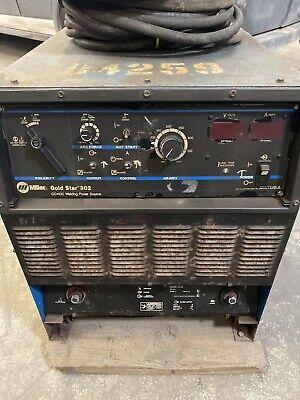Miller Gold Star 302 Welder Ccdc Welding Power Source