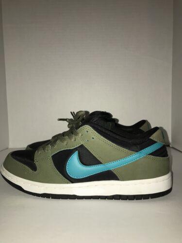 Nike Sb Dunk Low Olive Turbo Green Size 8