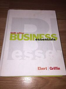 Business essentials, tenth edition