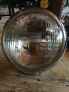 Harley, chopper, Rat-rod, Bobber headlamp