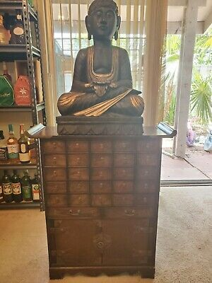 Antique Chinese Medicine Cabinet w/27 Drawers