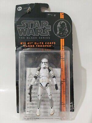 2013 Star Wars The Black Series #12 41st Elite Corps Clone Trooper Action Figure