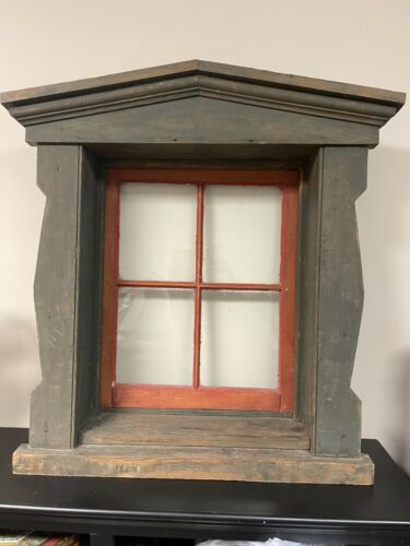 Antique Architectural Salvage Window Frame
