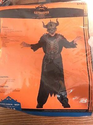 Gatekeeper Costume Boys Size 7/8 (#2)](Gate Keeper Costume)