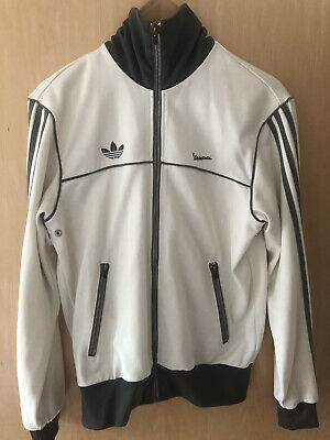 Adidas Retro White Vespa Tracksuit Top