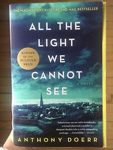Book for sale: All the Light We Cannot See - Anthony Doerr