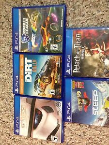 PS4 Games for trade!!