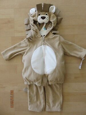 Carters Baby Lion Cub Halloween Costume Infant 6-9 months New 2 Piece Soft Cute