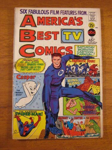 AMERICA'S BEST COMICS: ABC TV 1967 (VG/VG+) Bright & Colorful!