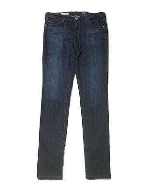 AG Adriano Goldschmied 30X30 Women's Mid Rise Legging Blue Denim Jeans Size 30R