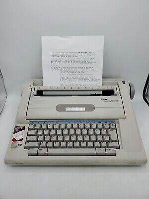 Smith-corona Na3hh Portable Typewriter Display Dictionary