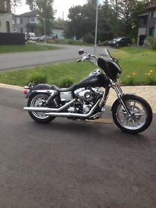 Harley Davidson dyna low rider 2009