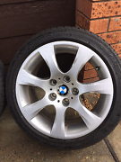 Bmw 17inch rims/tyres 600ono Canton Beach Wyong Area Preview