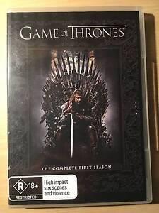 Game of Thrones Season 1 DVD Brunswick Moreland Area Preview