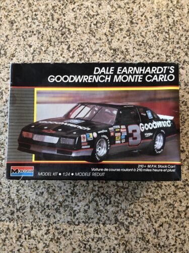 1988 Monogram Dale Earnhardt Goodwrench Monte Carlo 1/24 Free Shipping